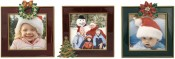 Classic Christmas Picture Frame Trio