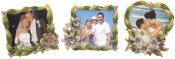 Small Flower Picture Frames Set