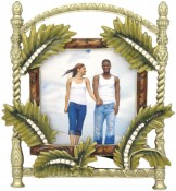 Palm Fronds Tropical Picture Frame