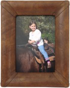Serrano Handmade Leather Picture Frame