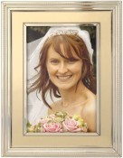 Verona Gold and Silver Picture Frame