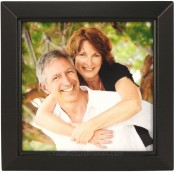 Estero Black Square Picture Frame