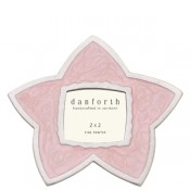 Pink Star Frame in Solid Pewter