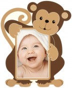 Monkey Baby Picture Frame