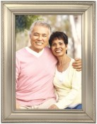 Classic Rope Pewter Metal Picture Frame