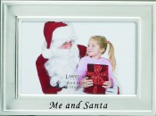 Me and Santa Christmas Picture Frame