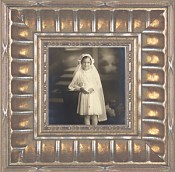 Chiara Antique Silver Picture Frame
