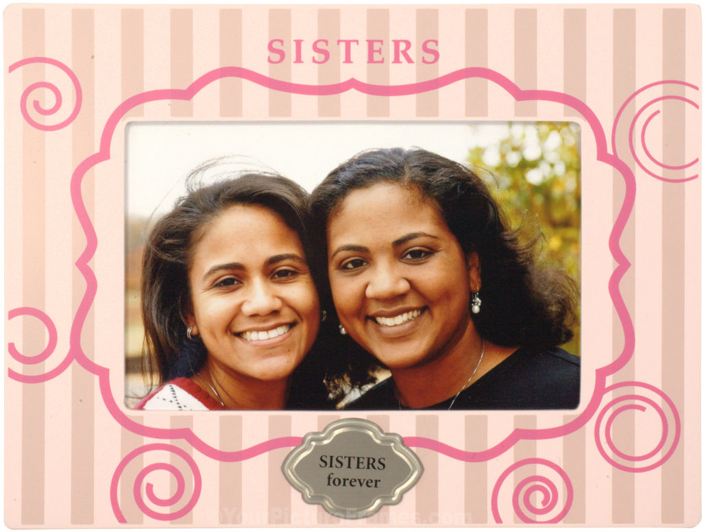 Pink Sisters Picture Frame
