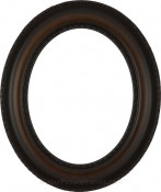 Stella Walnut Oval Picture Frame