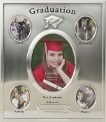 Silver Plated Graduation Frame