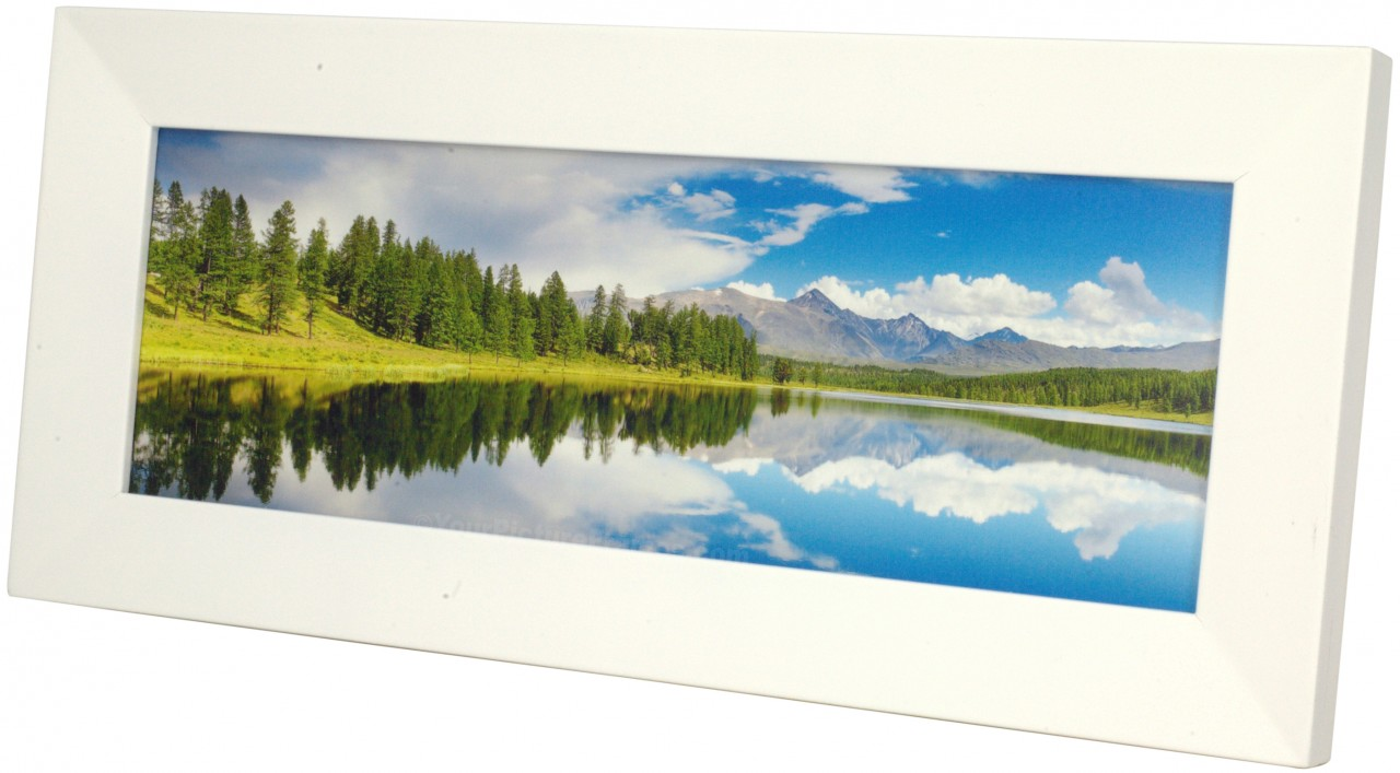 w4803pbw side web our white panoramic frame