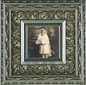 Marlena Ornate Silver Leaf Picture Frame
