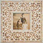 Sophie Ornate White Picture Frame