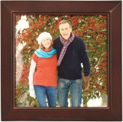 Estero Walnut Square Picture Frame