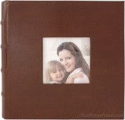 Portfolio Brown Leather Photo Album