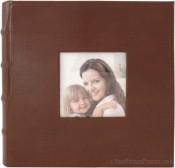 Portfolio Brown Leather Photo Album