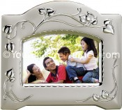 Satin Silver Vine Decorative Picture Frame