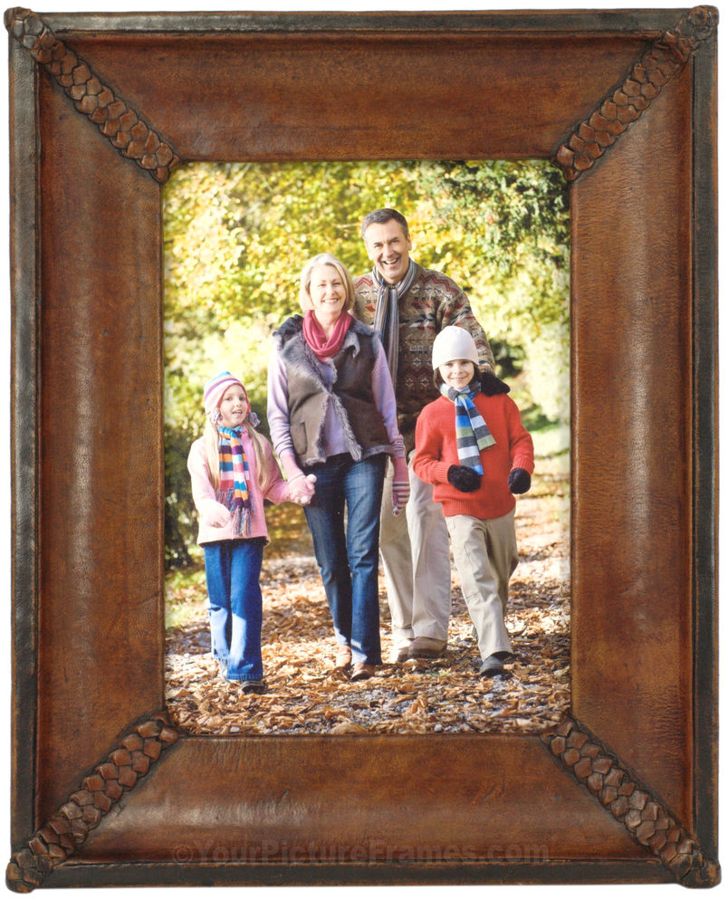 Sebastian Handmade Leather Picture Frame