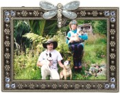Petite Dragonfly Picture Frame