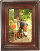 Verona Handmade Leather Picture Frame