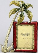 Swaying Palm Tropical Picture Frame