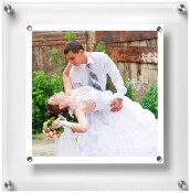 Square Wall Hanging Acrylic Picture Frame