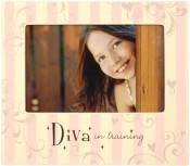 Diva in Training Girls Picture Frame