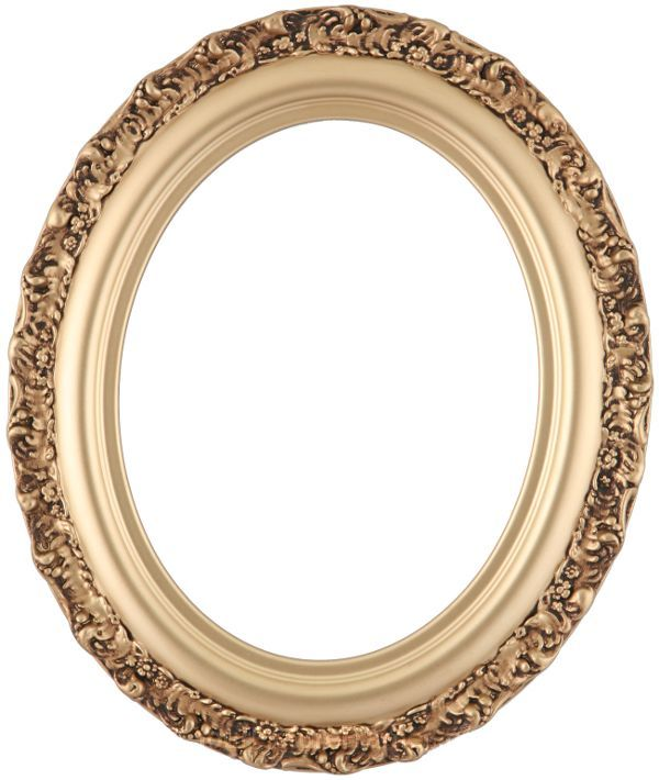 mia gold spray oval picture ornate gold oval frame