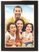 Black and Silver Metro Metal Picture Frame