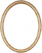 Sadie Gold Oval Picture Frame