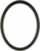 Gilda Matte Black Oval Picture Frame