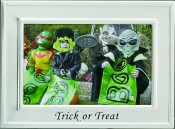 Trick or Treat Halloween Holiday Picture Frame