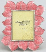 Pink Hibiscus Flower Picture Frame