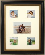 Tuscan Black Archival Collage Picture Frame
