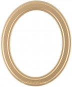 Marna Gold Oval Picture Frame