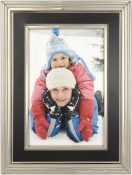 Verona Black and Silver Picture Frame
