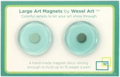 Blue Acrylic Picture Frame Magnets