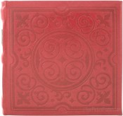 Impressions Embossed Red Photo Album