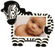 Zebra Baby Picture Frame