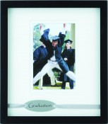 Black Shadow Box Graduation Picture Frame