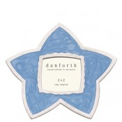 Blue Star Frame in Solid Pewter