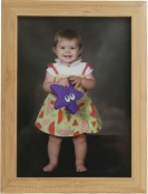 Shasta Natural Bamboo Picture Frame