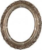 Mia Champagne Silver Oval Picture Frame