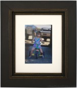 Palladio Black Distressed Picture Frame