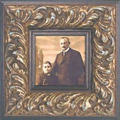 Evangelina Ornate Gold Picture Frame