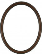 Laini Rosewood Oval Picture Frame