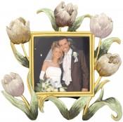 Tulip Garden Flower Picture Frame