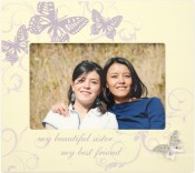 Butterfly Sister Picture Frame