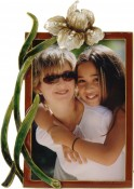 Donnalee Jeweled Flower Picture Frame