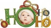 Ho Ho Ho Christmas Picture Frame